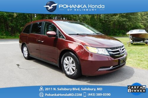 2016_Honda_Odyssey_EX-L ** ONE OWNER ** Honda Certified 7 Year / 100,000_ Salisbury MD