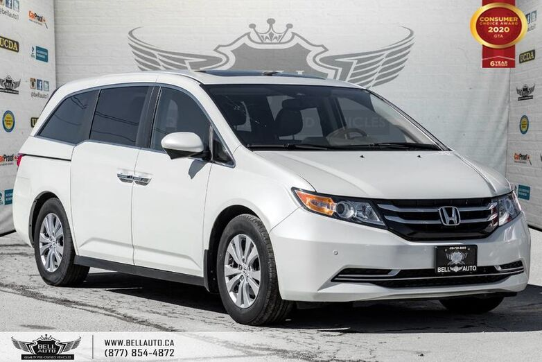 2016 Honda Odyssey EX-L, 8 PASS, NO ACCIDENT, REAR CAM, MONITOR, SUNROOF Toronto ON