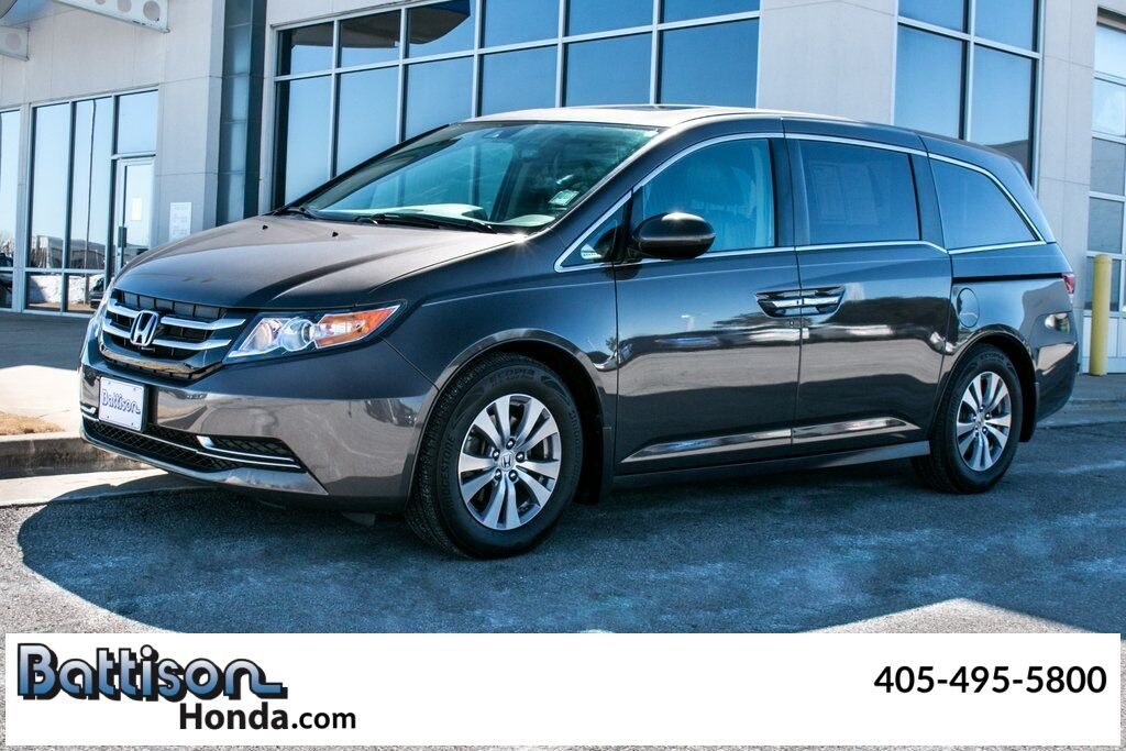 2016_Honda_Odyssey_EX-L w/Rear Entertainment System_ Oklahoma City OK