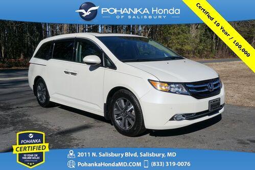 2016_Honda_Odyssey_Touring Elite ** Pohanka Certified 10 Year / 100,000  **_ Salisbury MD