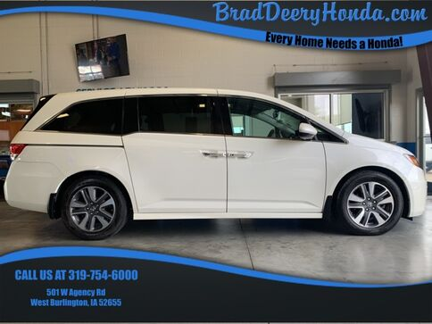2016_Honda_Odyssey_Touring Elite_ West Burlington IA