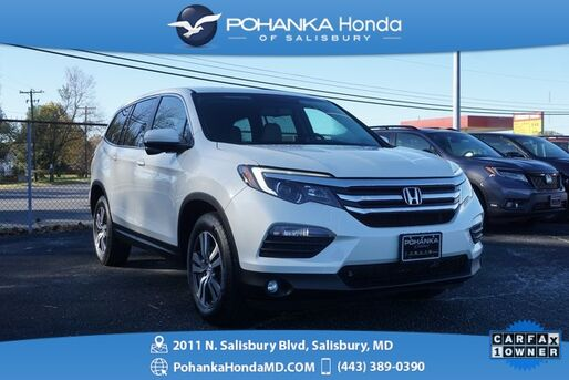 2016_Honda_Pilot_EX-L AWD ** SUNROOF & SIDE VIEW CAMERA ** ONE OWNER **_ Salisbury MD