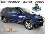 2016 Honda Pilot EX-L *BACKUP/SIDE -CAMERA, TOUCH SCREEN, MOONROOF, LEATHER, HEATED SEATS, 3RD ROW SEATING, BLUETOOTH PHONE & AUDIO
