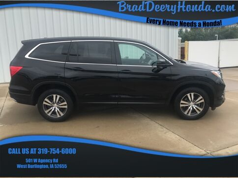 2016_Honda_Pilot_EX-L_ West Burlington IA
