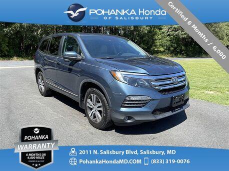 2016_Honda_Pilot_EX-L w/Honda Sensing AWD ** Certified 6 Months / 6,000_ Salisbury MD