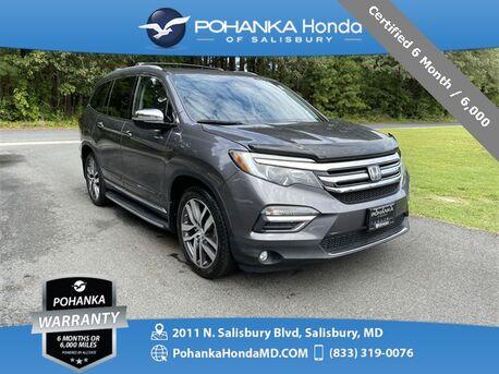 2016_Honda_Pilot_Elite AWD/DVD/NAVI ** Certified 6 Month / 6,000 **_ Salisbury MD