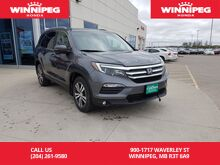 2016_Honda_Pilot_Navigation/Leather/Rear view camera/Bluetooth_ Winnipeg MB