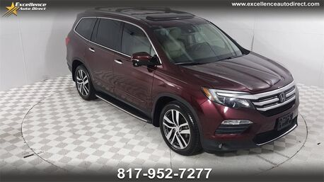 2016_Honda_Pilot_Touring 3RD ROW SEATS,PADDLE SHIFTER,SUNROOF/NAVIGATION,BC_ Euless TX