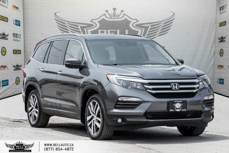2016 Honda Pilot Touring, 7 PASS, NAVI, PANO ROOF, PUSH START, BLIND SPOT, DVD Toronto ON