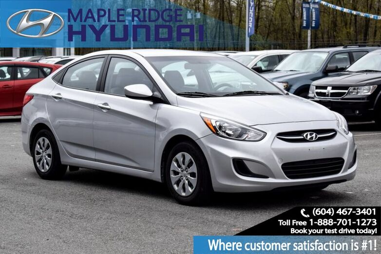 2016 Hyundai Accent 4dr Sdn Auto GL Maple Ridge BC