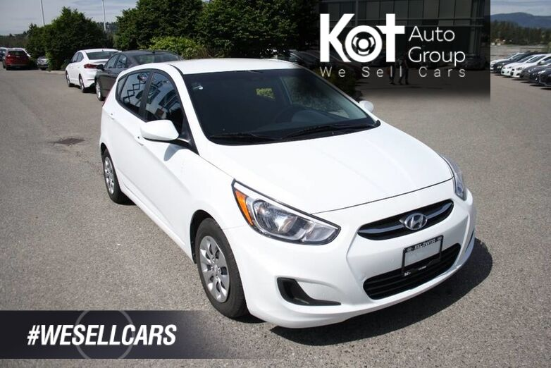 2016 Hyundai Accent GL Bluetooth, Heated seats, Power options. Kelowna BC