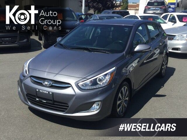 2016 Hyundai Accent GLS One Owner! Manual Transmission, Fuel Efficient Victoria BC