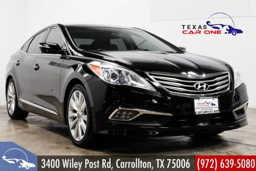 2016 Hyundai Azera LIMITED BLIND SPOT ASSIST NAVIGATION PANORAMA LEATHER KEYLESS START Carrollton TX