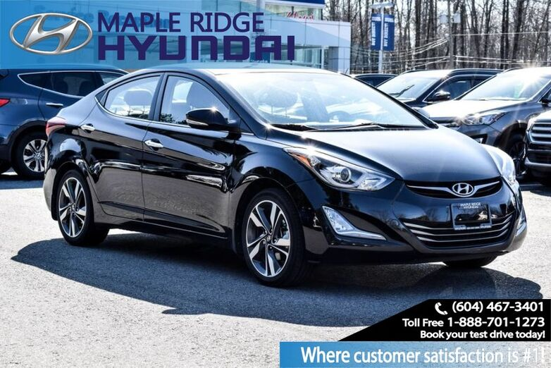 2016 Hyundai Elantra 4dr Sdn Auto Limited/Nav Maple Ridge BC