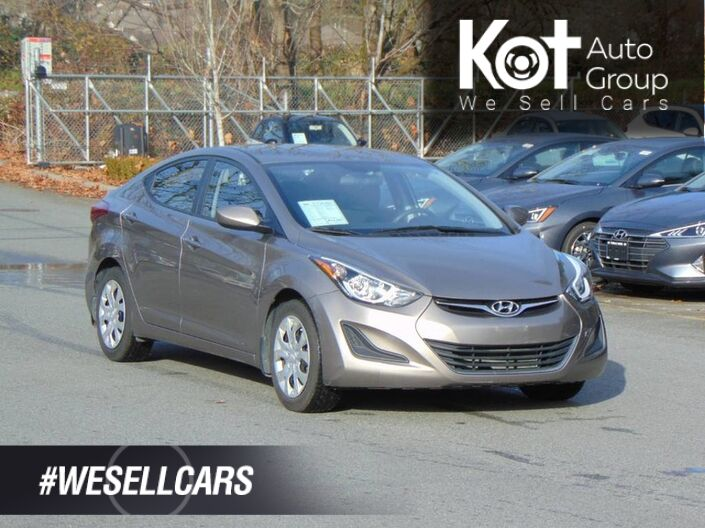 2016 Hyundai Elantra 4dr Sdn Man GL Maple Ridge BC