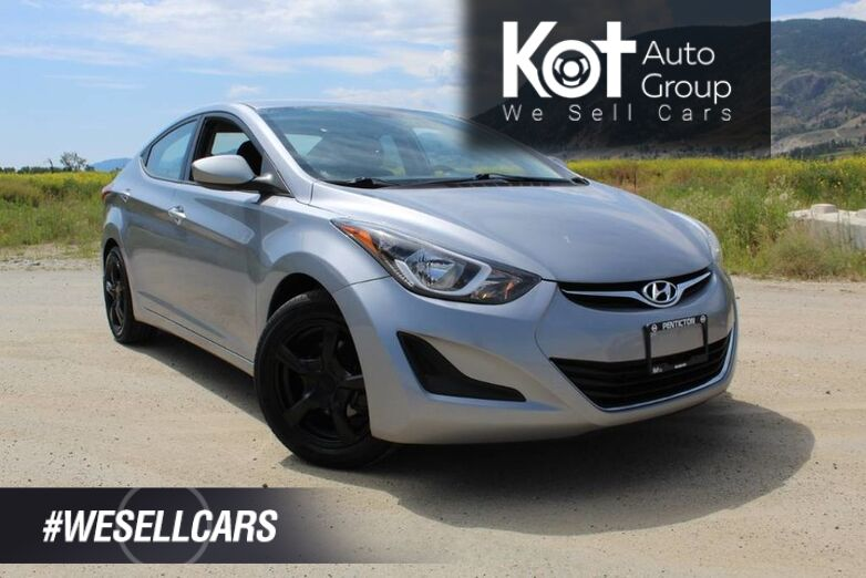 2016 Hyundai Elantra GL, 1 OWNER, LOW KM'S, LADY DRIVEN, COOL CAR, TEST DRIVE FOR FREE !! Kelowna BC