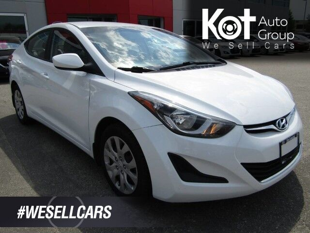 2016 Hyundai Elantra GL! WELL MAINTAINED!! CLEAN CAR!! HEATED SEATS!! Kelowna BC