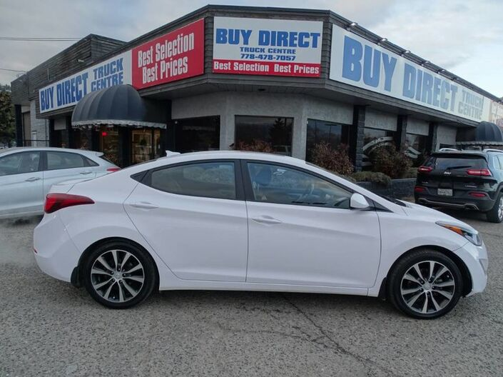 2016 Hyundai Elantra GLS Low KM's, Back Up Camera, Heated seats, Eco mode, Sunroof Kelowna BC