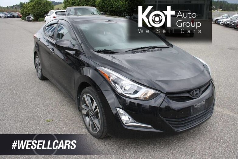 2016 Hyundai Elantra GLS NO ACCIDENT! HEATED SEATS! SUNROOF! BACK UP CAMERA! ALLOY WHEELS! FOG LIGHTS! Kelowna BC