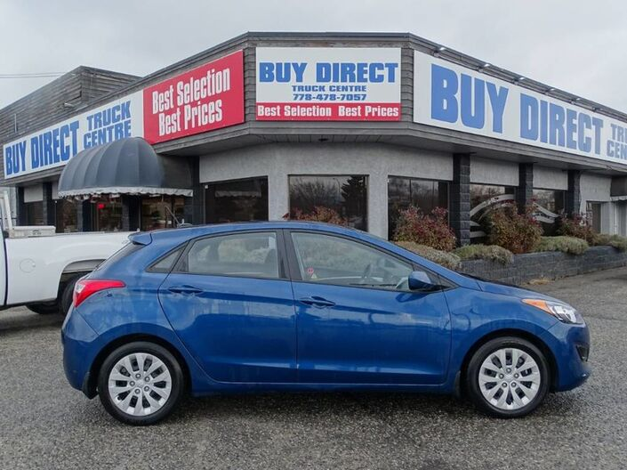 2016 Hyundai Elantra GT GL Hatchback Heated Seats, No Accidents! Low KM's Penticton BC