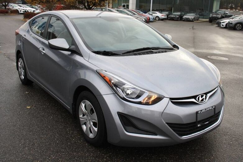 2016 Hyundai Elantra L+ One owner, NO accident Kelowna BC