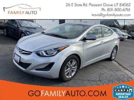 2016 Hyundai Elantra SE 6AT Pleasant Grove UT
