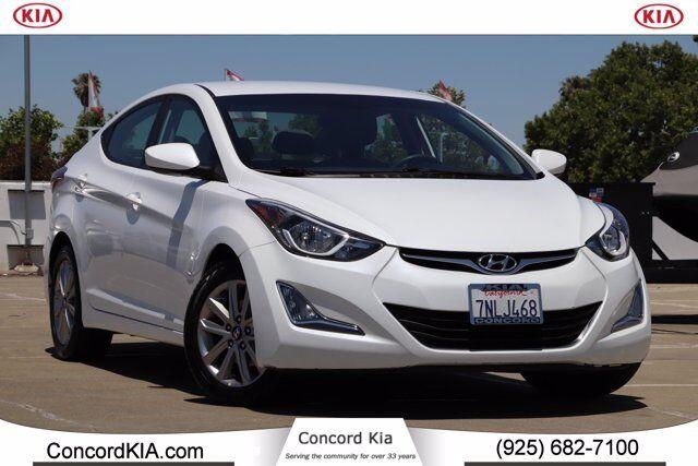 2016 Hyundai Elantra SE Concord CA