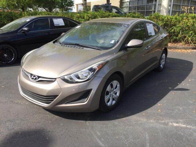 2016 Hyundai Elantra SE Gainesville FL