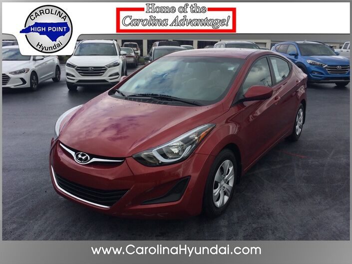 2016 Hyundai Elantra SE High Point NC