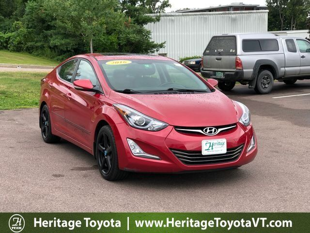 2016 Hyundai Elantra Sport South Burlington VT