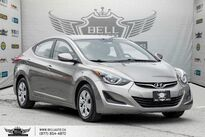 Hyundai Elantra USB, A/C, TRACTION CNTRL, PWR MIRROR, AM/FM RADIO 2016