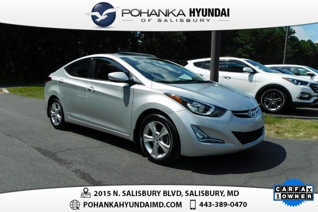 2016 Hyundai Elantra Value Edition >> 2016 Hyundai Elantra Value Edition One Owner Salisbury Md 30893033