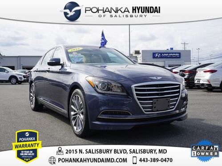 2016_Hyundai_Genesis_3.8 **ONE OWNER**_ Salisbury MD