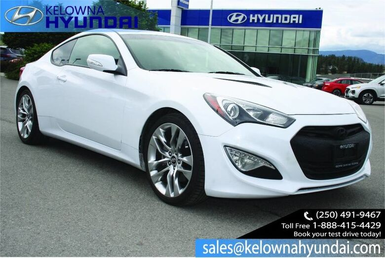 2016 Hyundai Genesis Coupe GT One Owner, No accident Kelowna BC