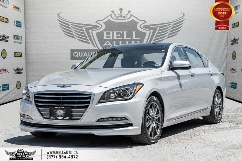 2016 Hyundai Genesis Sedan Luxury, NAVI, BACK-UP CAM, PANO ROOF, PUSH START Toronto ON