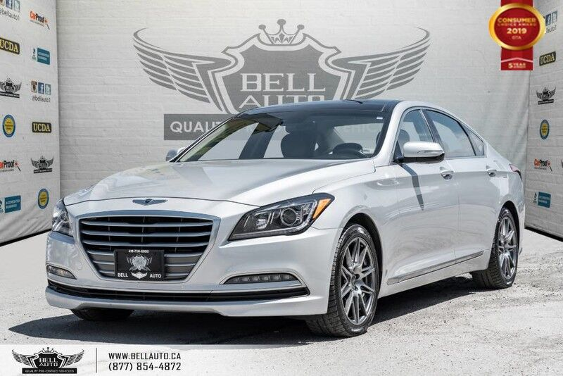 2016 Hyundai Genesis Sedan Luxury, NAVI, BACK-UP CAM, PANO ROOF, PUSH START