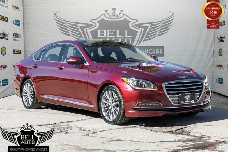 2016 Hyundai Genesis Sedan Premium ALL WHEEL DRIVE NAVIGATION PANOROOF BACKUP CAMERA Toronto ON
