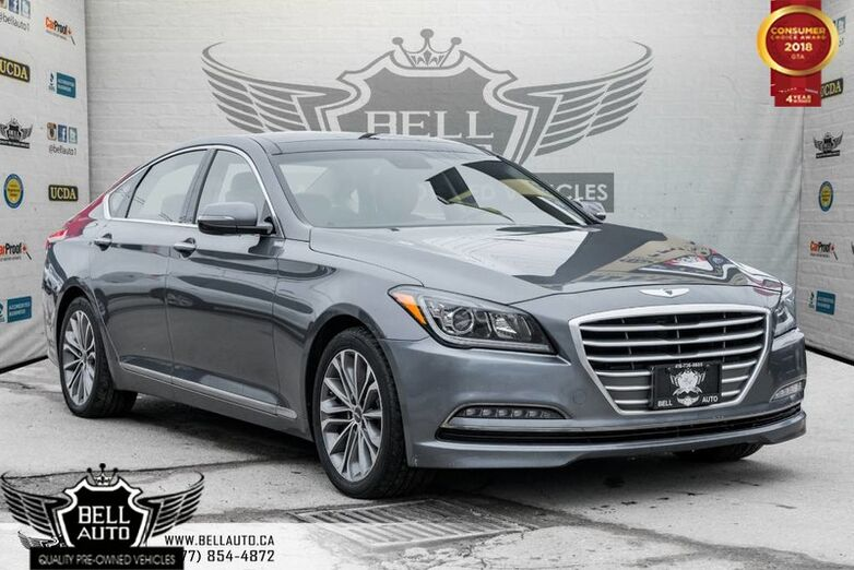 2016 Hyundai Genesis Technology, BACK-UP CAM, NAVI, BLUETOOTH, LEATHER, PANO ROOF Toronto ON