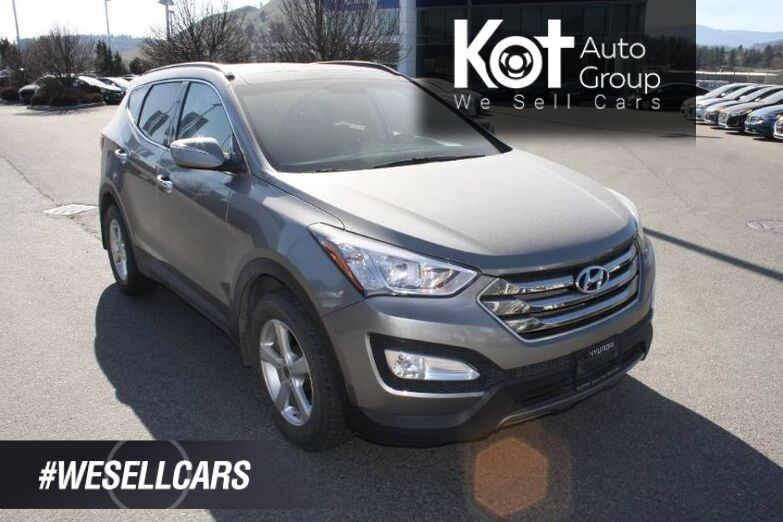 2016 Hyundai Santa Fe Limited HEATED & COOLED SEATS! BLUETOOTH! PANO-ROOF!LEATHER! NAVIGATION! Kelowna BC