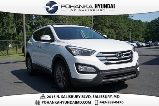 2016_Hyundai_Santa Fe Sport_2.4 Base **ONE OWNER**CERTIFIED**_ Salisbury MD