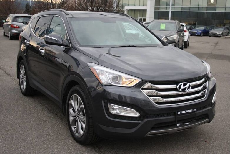 2016 Hyundai Santa Fe Sport Limited Adventure Edition Bluetooth, Power options,heated seats, Backup camera,Navigation, Leather. Penticton BC