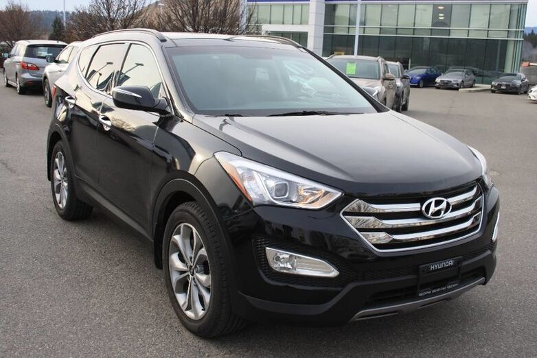 2016 Hyundai Santa Fe Sport Limited Bluetooth, Power options,Leather, Heated and cooled fron Kelowna BC