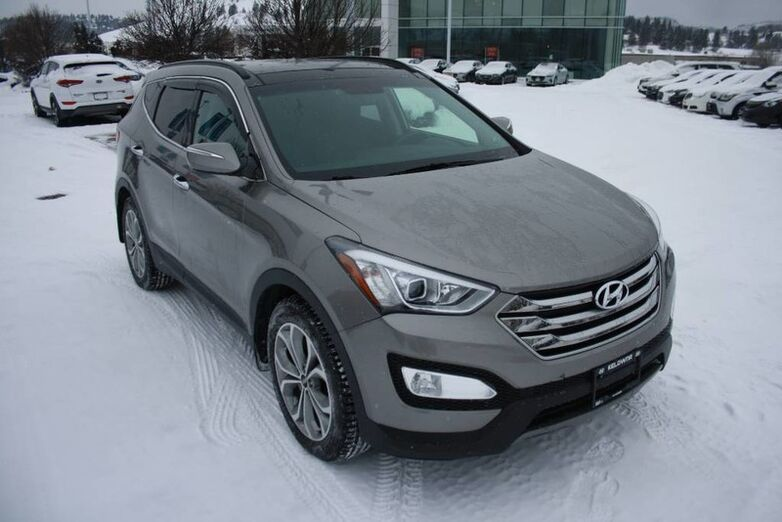 2016 Hyundai Santa Fe Sport Limited Bluetooth, Power options,heated seats,Leather, Backup ca Kelowna BC