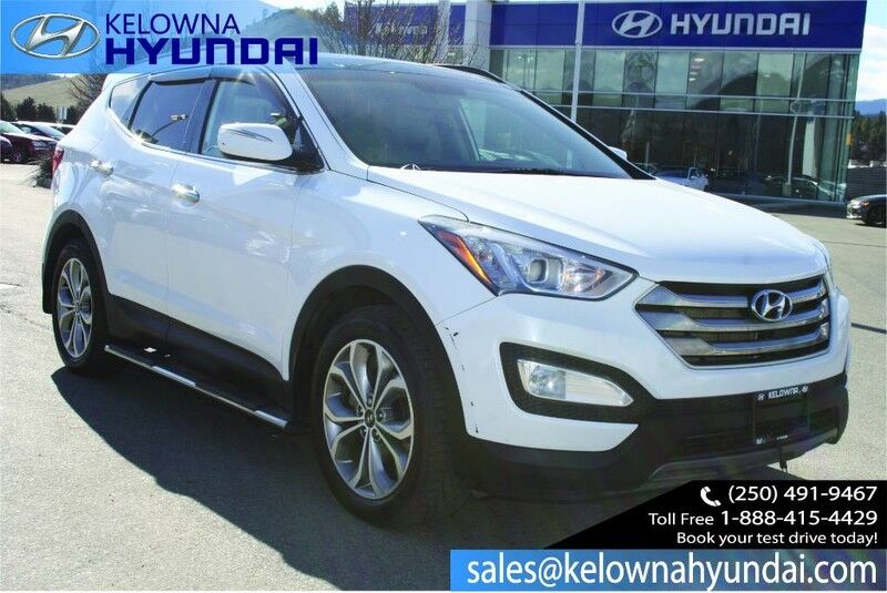 2016 Hyundai Santa Fe Sport Limited Heated seats,Back up cam, Leather, Sunroof, Nav Kelowna BC