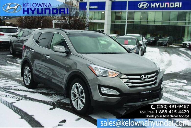 2016 Hyundai Santa Fe Sport Limited Keyless entry, Bluetooth,Leather, Sunroof, Nav CPO 3.99% Kelowna BC