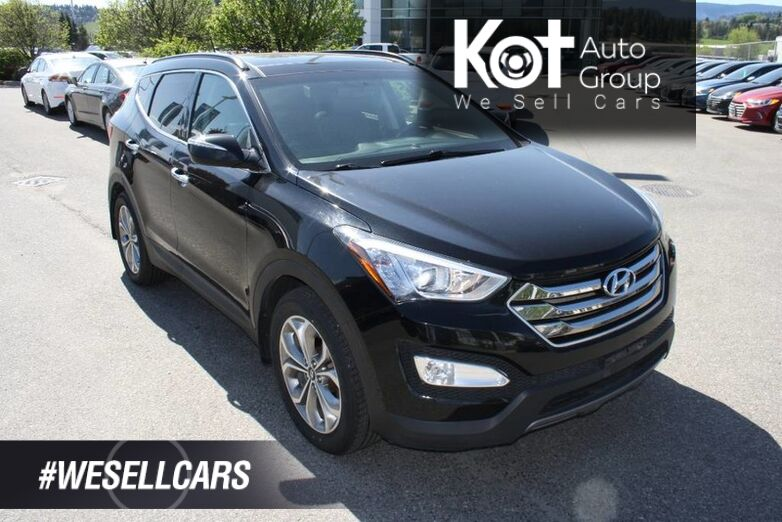 2016 Hyundai Santa Fe Sport Limited LEATHER!HEATED AND COOLED SEATS! SUNROOF! NAVIGATION! BLUETOOTH! Kelowna BC