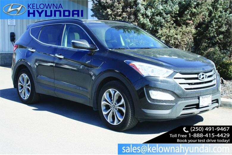 2016 Hyundai Santa Fe Sport Limited Leather Nav, Sunroof, Bluetooth, Back up cam. Kelowna BC