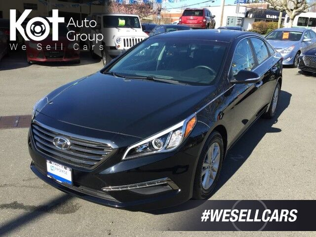 2016 Hyundai Sonata 2.4L GLS One Owner, No Accidents! Proximity Key-Less Entry, Sunroof! Victoria BC