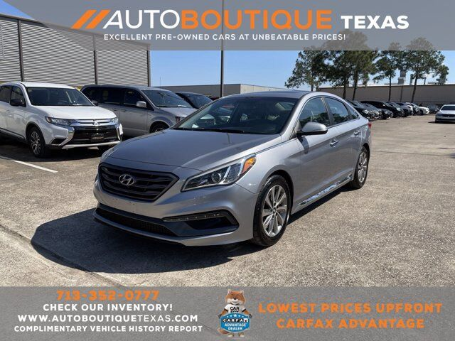 2016 Hyundai Sonata 2.4L Sport Houston TX