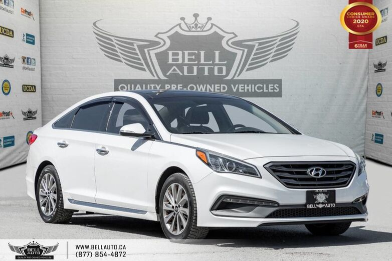 2016 Hyundai Sonata 2.4L Sport Tech, NAVI, REAR CAM, B.SPOT Toronto ON